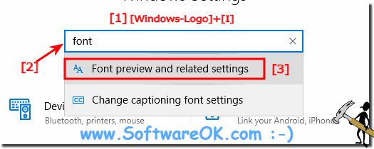 Fonts via Microsoft Store in Windows 10!