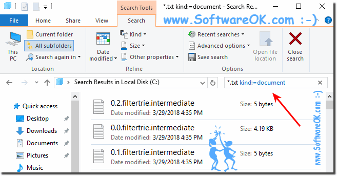 Search query for Text File!