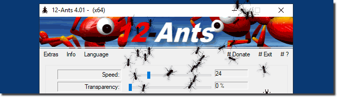 Ants for the Windows Desktop!