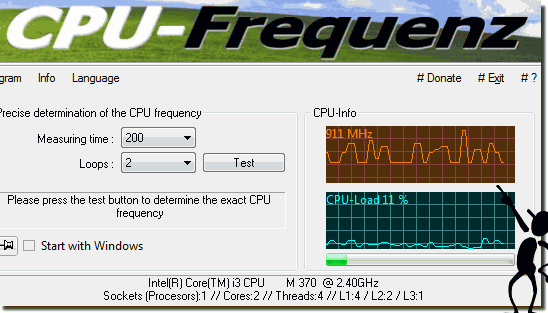 CPU frequency in Windows 10 should be variable!