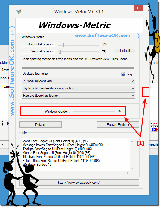 Customize Windows-Border Size!