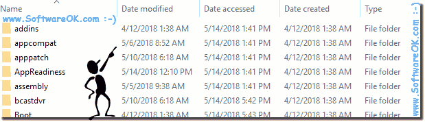 Timestamps Date modified, accessed, created on Windows!