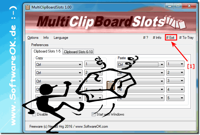 Uninstall the Multi-ClipBoard-Slots!