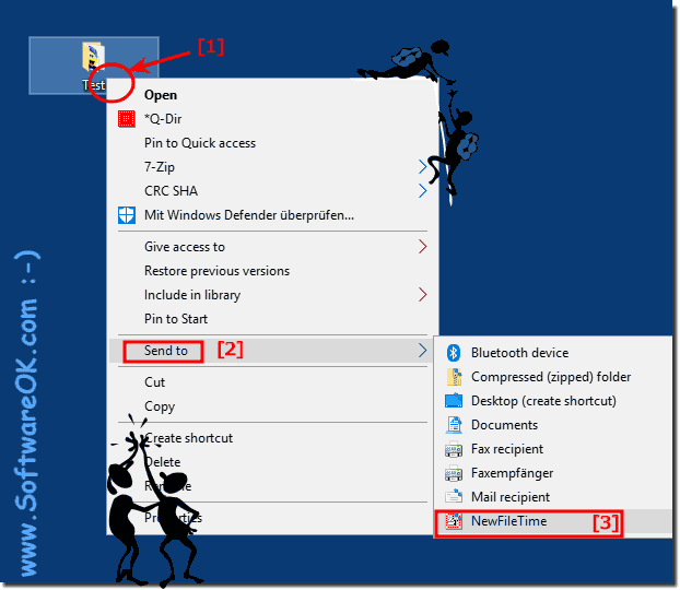 Change File and Folder time via MS Explorer Menu!