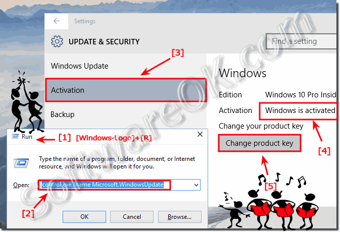 Activate Windows 10 and Product-Key!