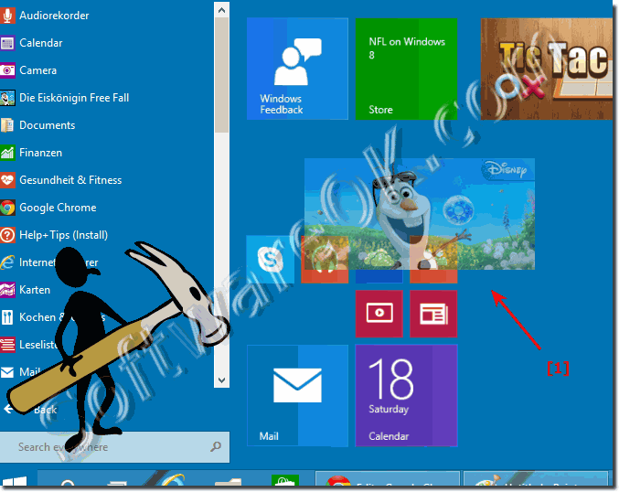 Add APPs to Windows 10 Start Menu!