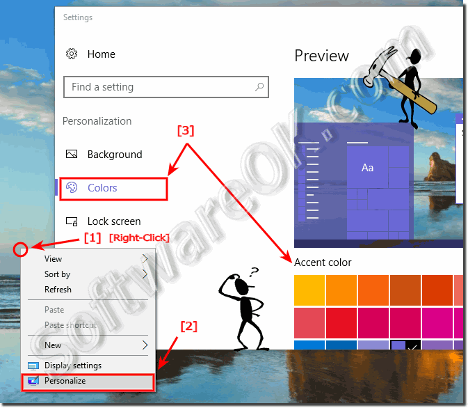 Change Window Color in Windows-10!