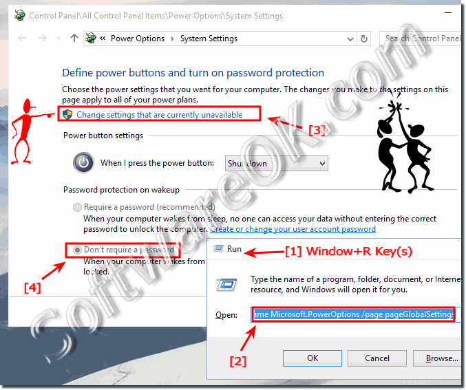 Disable Password Query in Windows 10!