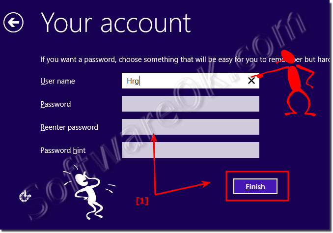 Local Account for Windows-10 without entering Password!