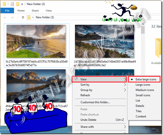 Show the Lock Screen Images on Windows-10!