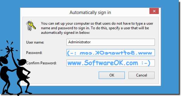Automatically sign in on Windows 8 and 8.1 user account without password!