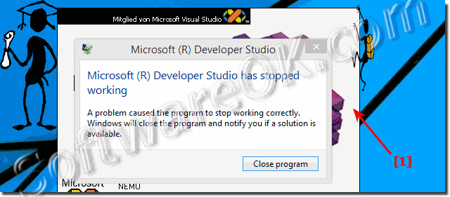 Visual C++ 6.0 crash on Windows 8.1 and 8!