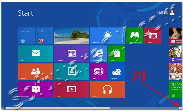 Windows-8 and Semantic Zoom in Start Menu eg Start Screen ZOOM-IN!