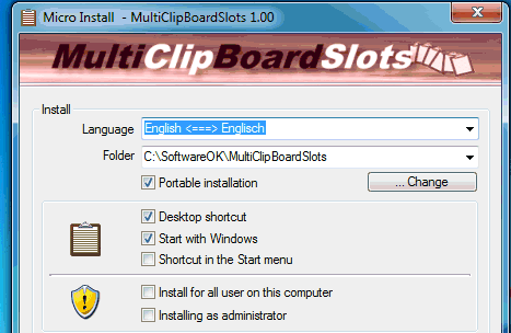 MultiClipBoardSlots 3 installer